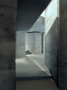 RENDER_SecularRetreat_4corridor_to_rear_of_bedrooms_creditPZ-and-LAparlour_to_the_left