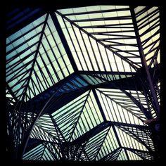Bravo!  Santiago Calatrava! Lisboa Oriente Train Station next to the EXPO take I. fhu