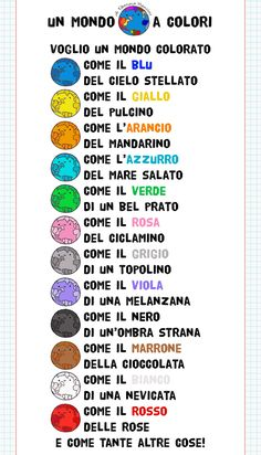 Activities For Kids, Crafts For Kids, Canti, Italian Quotes, Italian Language, Learning Italian, Kids Education, Elementary Schools, Emoji