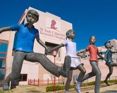Fifty Things You (Probably) Didn't Know About St. Jude Children's Research Hospital in Memphis, TN.