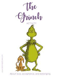 The Grinch is one of the best Christmas movies ever and we can learn a lot! Here is a fun Grinch mindful activity for you to do with family or students! Teaching Mindfulness, Mindfulness Activities, Mindfulness Practice, Mindfulness Meditation, Mr Grinch, Grinch Christmas, Grinch Stuff, Grinch Party, Christmas Wood