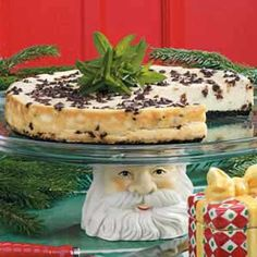 Chocolate chip cheesecake - diabetic recipe
