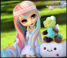 Ajisai - Pullip Classical White Rabbit | Flickr - Photo Sharing!