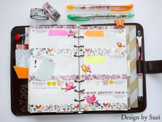 The week nr. 31 - birds, birds, birds #planner