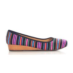 Inti Striped Black, $55, now featured on Fab.