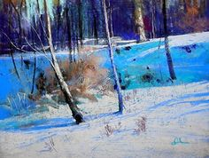 You Can't Get There From Here...pastel by Tom Christopher Pastel ~ 18 x 24