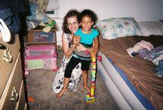 My sister Kim and niece Brieanna.