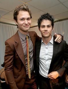 Dylan O'Brien Photos  - Green Room at the Young Hollywood Awards  - Zimbio