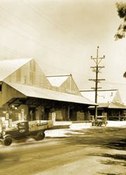 Loomis Old Sheds at High Hand  Great Cafe, Sunday Brunch, Nursery and Events