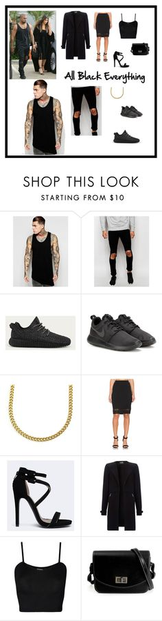 """""""Look Like the West's For Less"""" by themitchhilsociety on Polyvore featuring ASOS, Jaded, adidas, NIKE, Glamorous, Qupid and WearAll"""