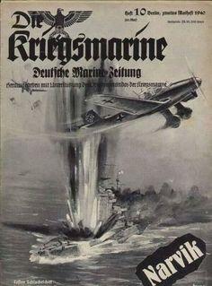 German  WW2 Zeitschrift der Kriegsmarine