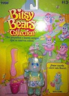 Bitsy Bears - I had these, and couldn't remember what they were called