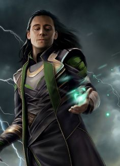 My art Fanart Magic tom hiddleston Thor loki eleathyra Loki Thor, Loki Laufeyson, Loki Art, Tom Hiddleston Loki, Marvel Universe, The Avengers, Marvel Dc Comics, Marvel Avengers, Avengers Quotes