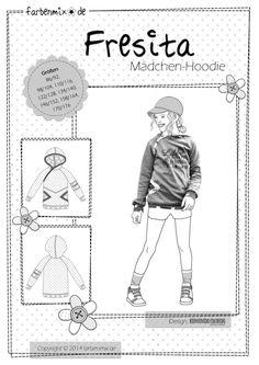 FRESITA, Papierschnittmuster - farbenmix Online-Shop - Schnittmuster, Anleitungen zum Nähen