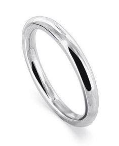 Sterling Silver 1.5mm High Polish Wedding Band Ring Size 4, 5, 6, 7, 8, 9, 10