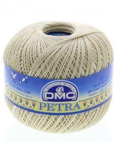 dmc petra 3 ecru petra perle cotton available from loveellie.com @LoveEllieBags