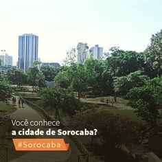 """Uma cidade verde e azul: #Sorocaba foi certificada pela sétima vez consecutiva como """"cidade exemplo ambiental"""" pela Secretaria de Estado do Meio Ambiente!"""