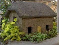 Diy hypertufa fairy house