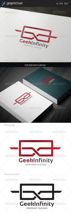 Geek Infinity Logo (Letters)