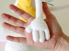 Amigurumi hand