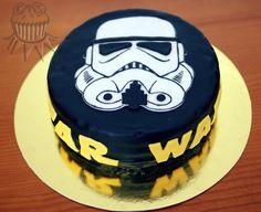 Stormtrooper cake Star wars cake
