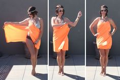 DIY Swim Coverup (like Victoria's Secret)