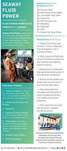 At Seaway Fluid Power we know that downtime costs you money. Getting you back up and running as quickly as possible is the focus of everything we do.If you need a part, we carry an extensive parts inventory. This means we can get you back up and running without having to wait for parts to arrive.