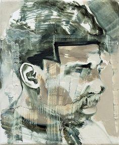 Bad Boys Have a Nice Haircut II, oil on canvas, 28x23cm (11x9), 2017    Paintings 2017 | Bartosz Beda