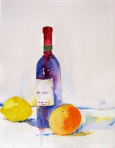 Wine_Bottle_with_Orange_700t.jpg (542×700)