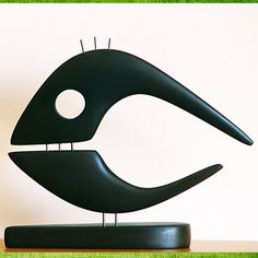 Whale statuemade with beech wood by GalleriaCentral on Etsy, $49.00