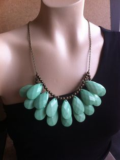 Long or Short Adjustable Mint Green Double by EclecticOrnaments, $47.00