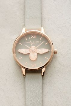 Grey Bee Watch | Anthropologie
