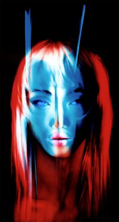 PATRICK ROCHON Light Painting-portrait 2