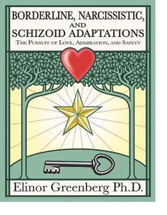 Elinor Greenberg, PhD is a licensed psychologist in private practice in New York City. Dr. Greenberg is an internationally known Gestalt Therapist & trainer who is also certified in the Masterson Approach to the Psychodynamic Treatment of Borderline, Narcissistic and Schizoid Disorders; Ericksonian Hypnotherapy & Group Psychotherapy.