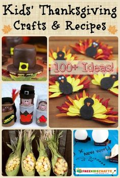 Your complete guide to creating the perfect turkey day! 131 Kids' Thanksgiving Crafts and Thanksgiving Recipes is stuffed with Thanksgiving crafts and activities your family is sure to love.