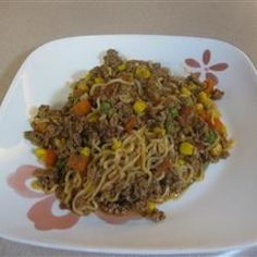 Ground Beef Curly Noodle - Allrecipes.com