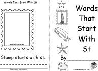 list of BLENDS, DIGRAPHS, TRIGRAPHS AND OTHER LETTER