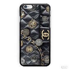 Black Wallet Chanel Bag Photo Image inspiret iPhone Cases Case
