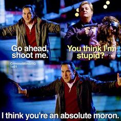 "Best quote by Jason Gideon on ""Criminal Minds"""