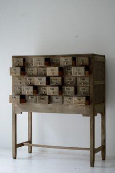 demode furniture. drawers