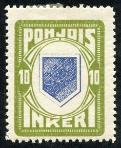 """1920 Scott 9 buff & gray green """"Peasant"""" Quick History Between the River Neva-which flows through St. Petersburg (Petrograd)- and n. Postage Stamps, Finland, Green And Grey, Arms, History, Classic, March 21, Prints, Deep Blue"""