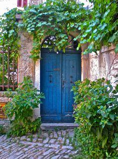 The Blue Door, Rovinj, Croatia...photo by Lorri Poiroux