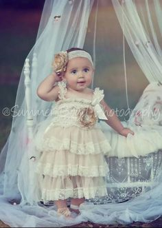 Hey, I found this really awesome Etsy listing at https://www.etsy.com/listing/164929134/tan-beige-lace-toddler-baby-girl-dress