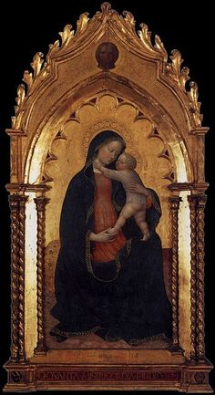Masolino da Panicale (1383–1440)    Alternative names Masolino da Panicale; Tommaso di Cristoforo Fini   Date of birth/death circa 1383(1383) circa 1440(1440)   Title Madonna and Child   Date 1423(1423)