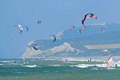 Kite-surf et planches à voile sur la Côte d'Opale