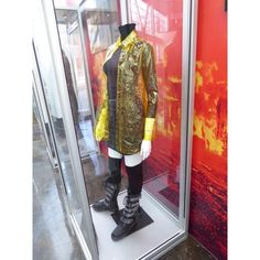 Blade Runner 2049 movie costumes on display ❤ liked on Polyvore featuring home, kitchen & dining and table linens
