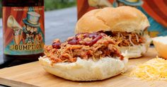 With on three ingredients, wow your friends and family with this simple and satisfying Woodchuck Pulled Pork recipe!