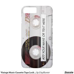 #Vintage #Music #Cassette #Tape Look Pattern #case
