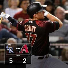 Brandon Drury hit another home run, but the Dbacks fell late. 4/30/2016