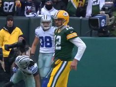 Even when he's gimpy, Aaron Rodgers is still better than your QB.